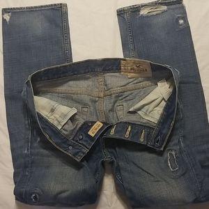 Hollister Huntington Low Rise Slim Straight Jeans